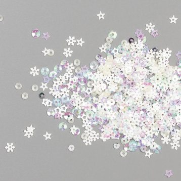 Snowflake Sequins 150443