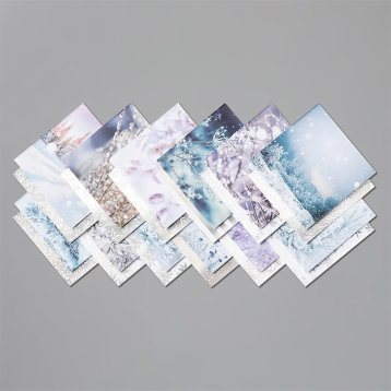"Feels Like Frost Specialty 6"" X 6"" (15.2 X 15.2 Cm) Designer Series Paper 150444"